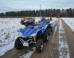 Quad-Winter-Tour Düren