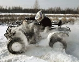 Quad-Winter-Tour Elend