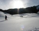 Schneeschuh-Wanderung Frasdorf