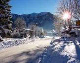 Schneeschuh-Wanderung Lenggries-Fall