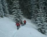 Schneeschuh-Wanderung Leogang