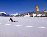 Snowkite-Kurs Grabenstätt