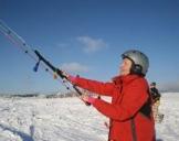 Snowkite-Kurs Zell am See