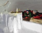 Übernachtung im Romantik-Iglu Zermatt